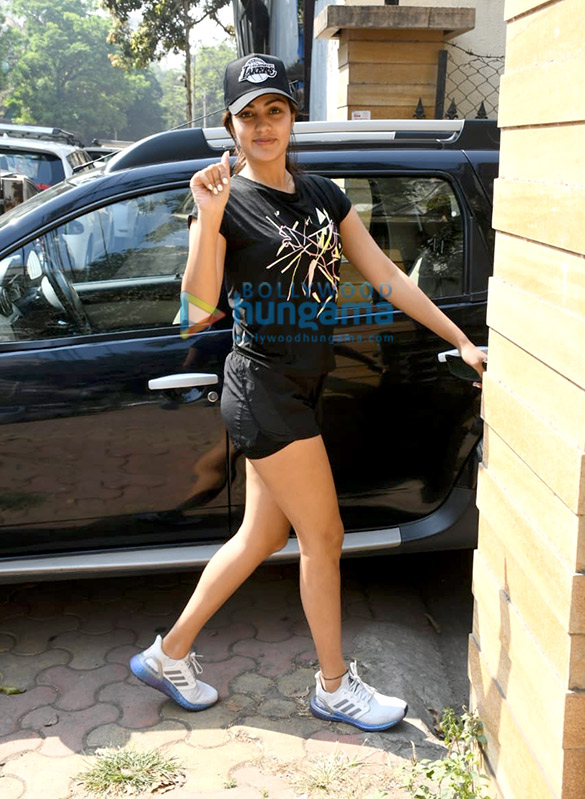Photos: Sushant Singh Rajput and Rhea Chakraborty spotted at the gym
