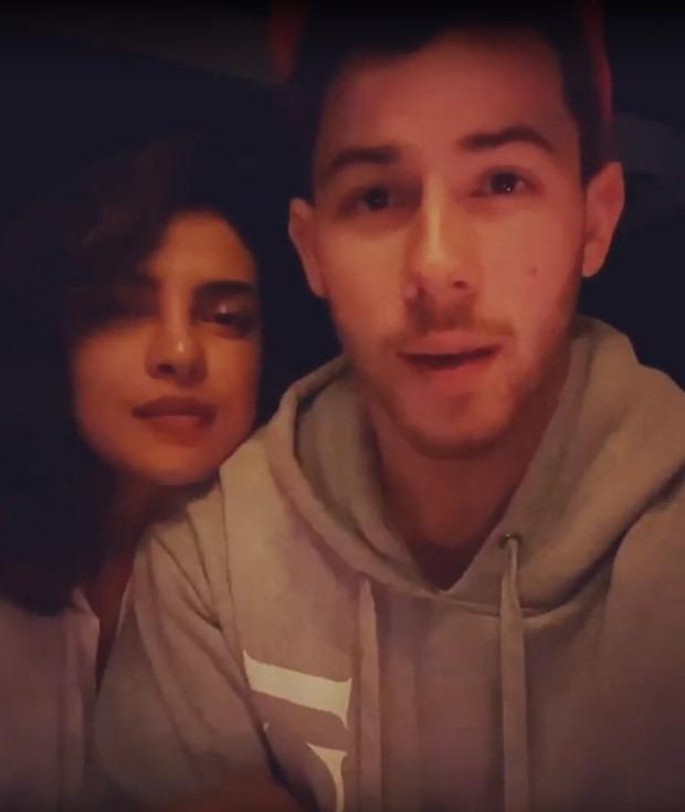 Priyanka Chopra and Nick Jonas share video on day 10 of self-quarantine, the couple hopes everyone is staying safe