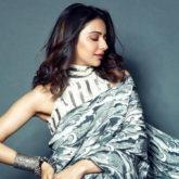 Rakul Preet Singh looks spectacular in her latest intergalactic saree-clad look