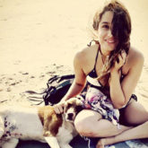 Shraddha Kapoor makes a new friend as she enjoys her time off on a beach