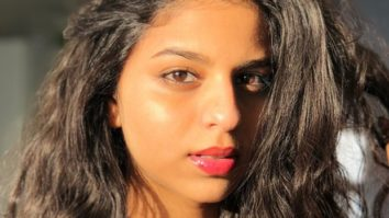 Suhana Khan spends time watching a Meryl Streep movie and we think that there's no better way!