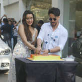 Tiger Shroff and team Baaghi 3 surprise birthday girl Shraddha Kapoor with a flash mob on 'Cham Cham'