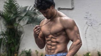 Tiger Shroff goes shirtless as he works out at home, says mom has no option but to let him play in the house