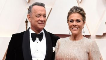 Tom Hanks is losing in the game of Rummy to Rita Wilson after being released from hospital post testing positive for Coronavirus