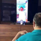 Neetu Kapoor shares video of Rishi Kapoor doing virtual yoga; Alia Bhatt cheers