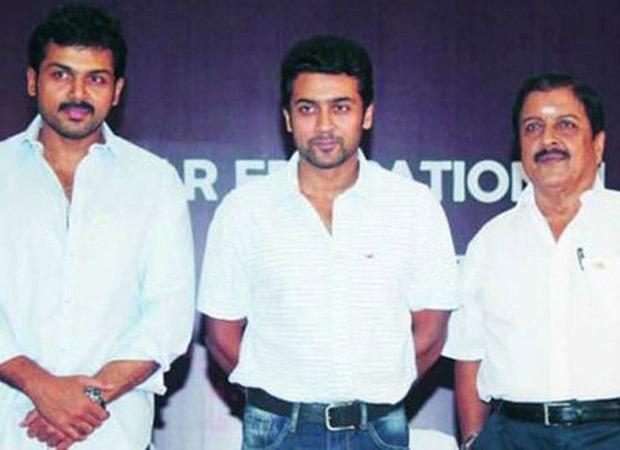 Tamil actors Suriya, Karthi and Sivakumar donate Rs 10 lakh to FEFSI workers