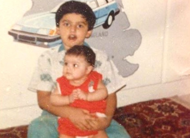 Arjun Kapoor has been isolating with sister Anshula kapoor since 1990. Here's proof