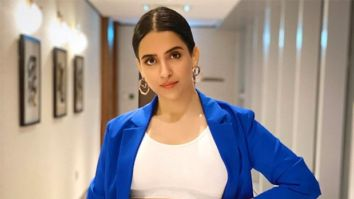 """""""With the look in place, I got into her shoes easily"""" - says Sanya Malhotra about Shakuntala Devi"""
