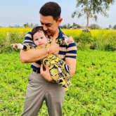 Aamir Khan adorably poses with Gippy Grewal's son Gurbaaz, see photos