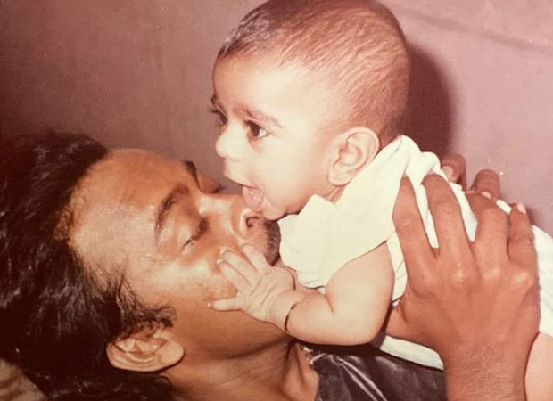 On Ram Charan's birthday, father Chiranjeevi sends wishes with a throwback photo