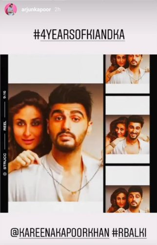 4 Years of Ki & Ka: Arjun Kapoor goes down the memory lane with Kareena Kapoor Khan