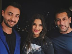 Aayush Sharma shares a throwback picture with Saiee Manjrekar and Salman Khan