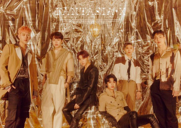 Ahead of Fantasia X launch, Monsta X members shine bright in their sparkly gold concept photos