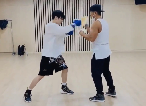 BTS member Jungkook is the ultimate fighter, shares a new video from his boxing training