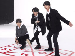 BTS members Jin, Suga, Jungkook play hopscotch and it will remind you of your childhood days
