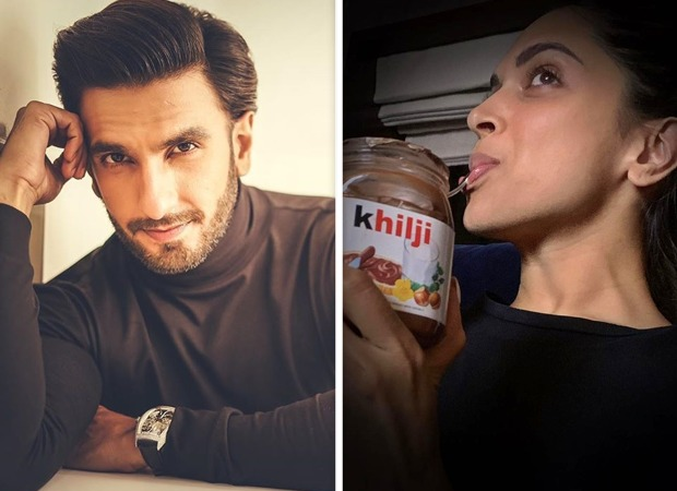 Hilarious! Deepika Padukone labels sleepy-head Ranveer Singh's forehead and it's adorable