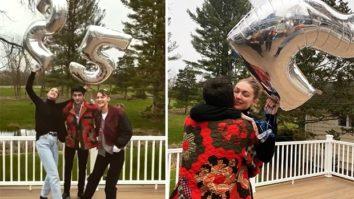 Gigi Hadid celebrates her 25th birthday with boyfriend Zayn Malik, sister Bella Hadid and family
