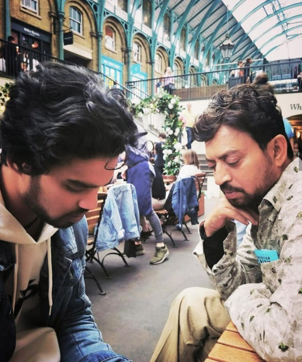 Irrfan Khan's son Babil thanks all the well-wishers for their message amid their tragic loss
