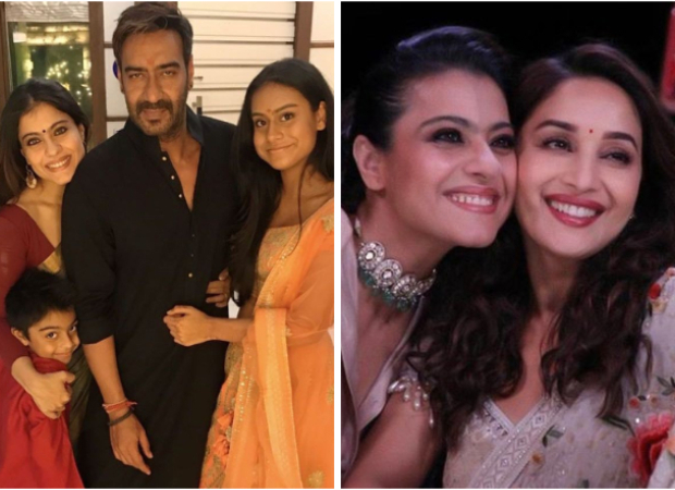 Kajol shares a series of photos with Ajay Devgn, Nysa, Madhuri Dixit talking about maintaining sanity amid lockdown