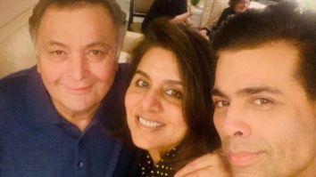 "Karan Johar mourns the tragic loss of Rishi Kapoor, says ""a piece of my growing years has been snatched away"""