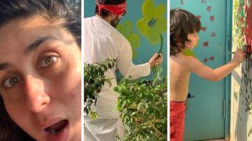 Kareena Kapoor Khan marvels at Saif Ali Khan and Taimur Ali Khan's artistic skills