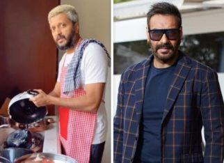 Riteish Deshmukh washes utensils as he shares hilarious TikTok video on Ajay Devgn's birthday