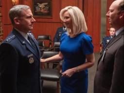 Steve Carell and Lisa Kudrow star in upcoming sitcom Space Force from The Office creators