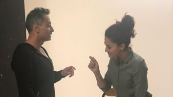 Taapsee Pannu shares throwback picture with Badla director Sujoy Ghosh