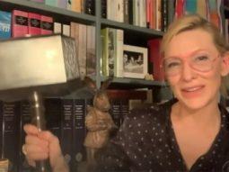 Thor: Ragnarok actress Cate Blanchett reveals she has Thor's hammer - Mjolnir