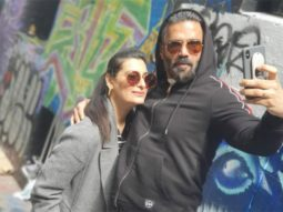VIDEO Suniel Shetty tries to cook, but Mana Shetty is in control!