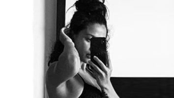 Krishna Shroff shares a mirror selfie in a two piece bikini; Tiger Shroff comments