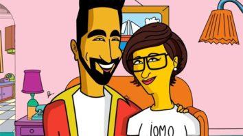 Arjun Kapoor and Ayushmann Khurrana look uncanny in their Simpson avatar