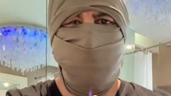 Watch: Ronit Roy demonstrates how to easily convert your T-shirt into a mask and proves its efficiency