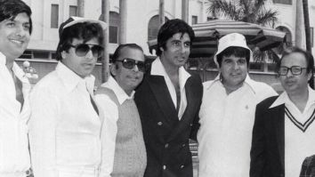 Amitabh Bachchan shares a priceless throwback photo with a bunch of Hindi and Bengali actors