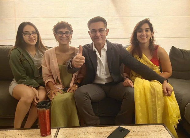 Aamir Khan debuts along with his salt-and-pepper look on Instagram on this household image : Bollywood Information 9