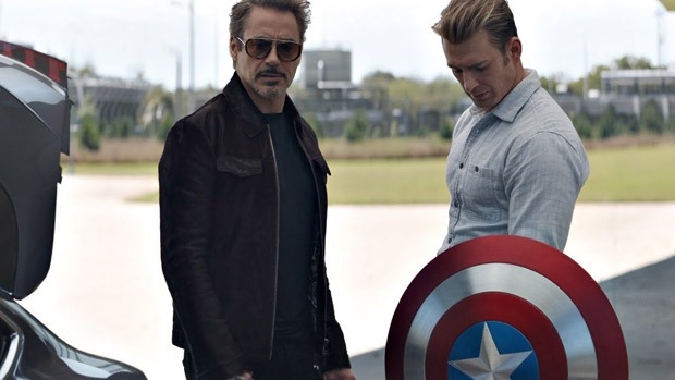 Avengers Endgame Robert Downey Jr explains Iron Man and Captain Americas reconciliation scene 2