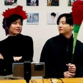 BTS members V and Jungkook make carnations on Parents' Day, perform 'Never Not' by Lauv during live stream