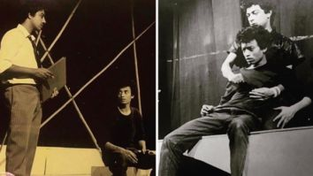 Babil Khan shares unseen photos from Irrfan Khan's National School of Drama days