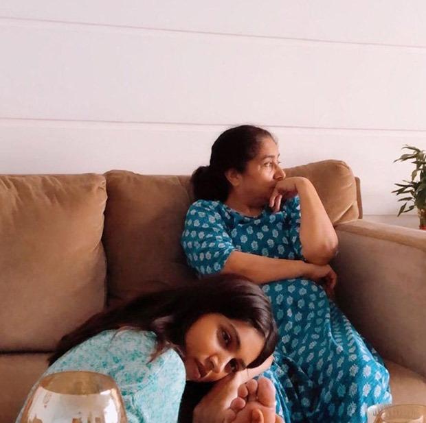 Bhumi Pednekar learns kathak from her mom in lockdown