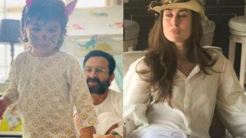CUTE Saif Ali Khan turns hairdresser for Taimur Ali Khan, Kareena Kapoor Khan shares a picture