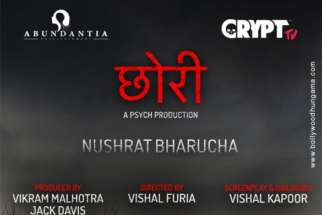 First Look of the movie Chhori