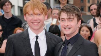 Daniel Radcliffe reacts to Harry Potter co-star Rupert Grint becoming father