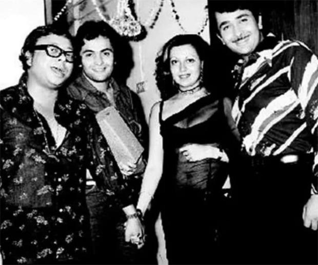 Flashback Friday: Kareena Kapoor Khan shares old photo of Rishi Kapoor with Randhir, Babita and RD Burman