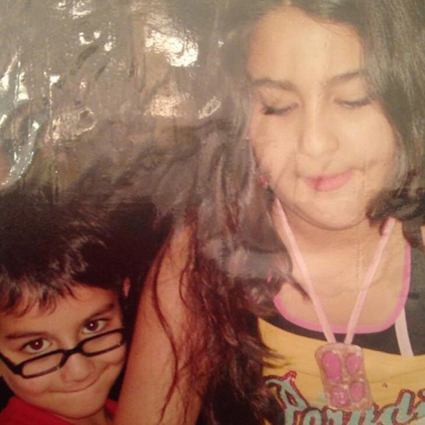 Ibrahim Ali Khan shares a childhood photo with Sara Ali Khan, says he is glad he can bully her now