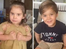 Karan Johar's twins Roohi and Yash give 'screen test' in his latest 'Lockdown with Johars' video