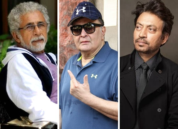 Naseeruddin Shah on Rishi Kapoor & Irrfan Khan : Bollywood Information 5