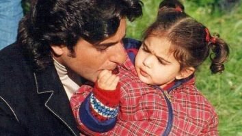 Saif Ali Khan and toddler Sara Ali Khan are too cute for words in this throwback picture