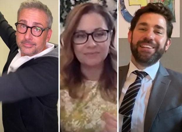John Krasinski Reunites The Office Cast for Fans' Wedding