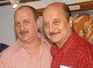 Anupam Kher shares a meme made out of a picture clicked at his father's prayer meet; says tragedy can turn into humour