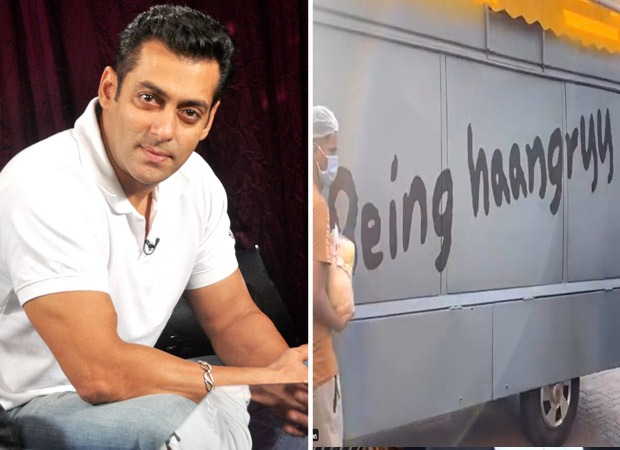 Salman Khan sends out food trucks 'Being Haangryy' to feed people in need; watch